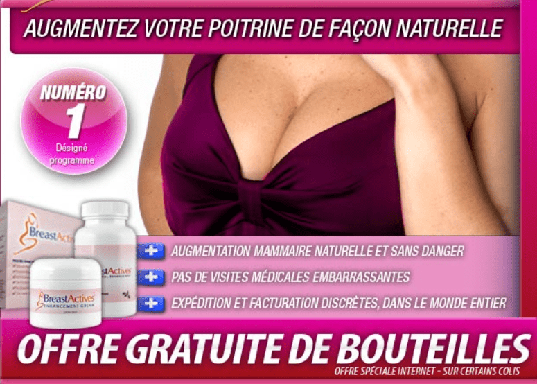 Breast Actives - augmentation mammaire naturelle